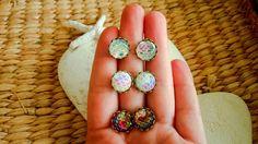 Mermaid Earrings Dragon Scale Earrings Snakeskin by TheaXessorize