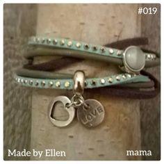 Groene armband voor mama
