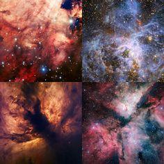 Deep Space Illustration