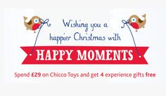 Our campaign with Chicco, rewards for the whole family at Christmas