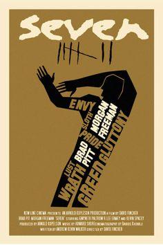 Minimal Movie Posters - Se7en