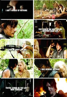 TWD. The Walking Dead. For the Bethylers! Norman Reedus. Beth Greene. I was nobody. Nothing.