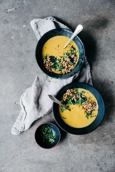 Curried Pumpkin Soup | TENDING the TABLE