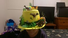 Dinosaur bonnet