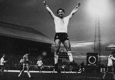 Ossie Ardiles celebrates after scoring away at Birmingham in 1980 Tottenham Hotspur Football, Retro Football, North London, Birmingham, Barn, Passion, Club, History, Concert