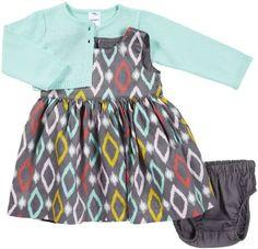 Amazon.com: Carter's Baby-girls Cardigan Dress Set: Baby