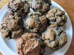 Blueberry Muffins by Meghan Telpner