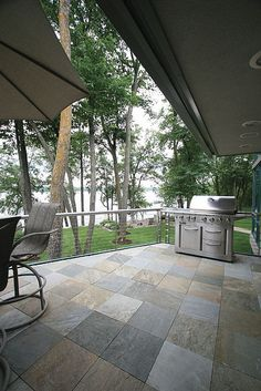 Peterson Feature Home - Beautiful Slate Patio