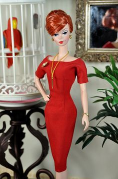 71-7. Joan's red dress repro from MAD NEN drama by Natalia Sheppard, via Flickr