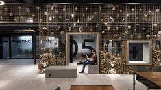 UFO Space co-working space by Mov.in, Canoas – Brazil Ufo, Gabion Wall, Architecture Magazines, Rio Grande Do Sul, Co Working, Coworking Space, Office Interiors, Retail Design, Outer Space