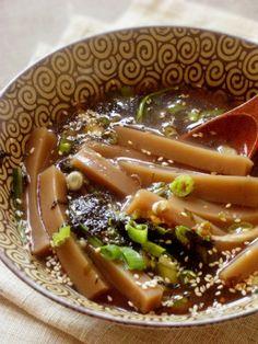 konak noodle soup , 냉 묵국수 korean food , http://blog.daum.net/aspoonful