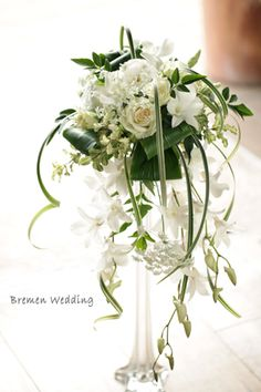 Unique Flower Arrangements, Wedding Arrangements, Flower Centerpieces, Flower Decorations, Wedding Centerpieces, Wedding Decorations, Cascading Wedding Bouquets, Wedding Table Flowers, Bride Bouquets