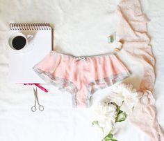*** PLEASE NOTE! This listing is for a SEWING PATTERN, not actual lingerie. If you would like me to make you some lingerie, please visit my lingerie