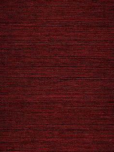 Schumacher - Grasscloth Wallpaper - Celebes Sisal Red - $92.75 per yard - at DecoratorsBest.com