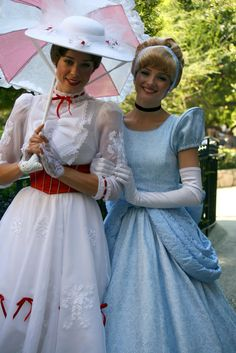 Mary Poppins and Cinderella