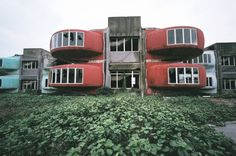 Abandoned Pod City in Taiwan (built in 1978)