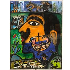 The fabulous collection exhibited in the House. Art Brut, Comic Books, Comics, Gallery, Painting, Collection, Kunst, Roof Rack, Painting Art