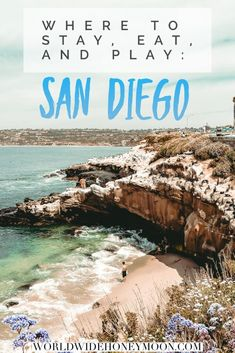 Find all of the best places to eat in San Diego where to stay in San Diego and all the things to do in San Diego in our ultimate one day San Diego itinerary. - Travel San Diego - Ideas of Travel San Diego San Diego Vacation, San Diego Travel, San Diego Trip, San Diego Usa, California Vacation, Visit California, Southern California, California Getaways, Places To Travel
