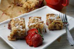 SCD Strawberry-Almond Coffee Cake (*Use honey for sweetener...)
