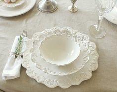 white dinnerware   French+White+dinnerware+place+setting.jpg