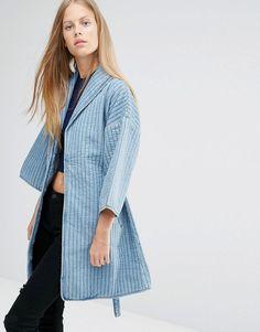 Ganni | Ganni Denim Kimono Style Jacket at ASOS