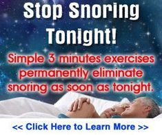 The Stop Snoring Exercise Program #obstructivesleepapnea