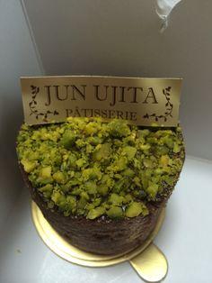 チョコとピスタチオのケーキ@JUN UJITA