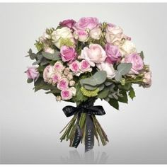 Quintessentially's No. 1 bouquet is The Signature - an elegant mixture of luxury sugar pink shades