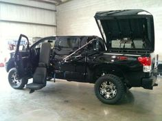Black Converted wheelchair accessible truck from Freedom and Harmar