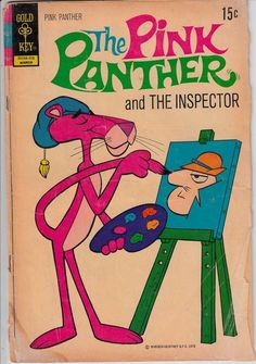 Vintage Whitman Comic Book Pink Panther March 1972 | eBay