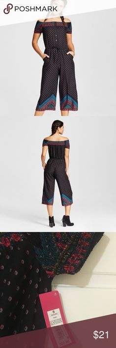 Brand New Xhilaration Jumpsuit! Perfect for Fall🍁 Brand new jumpsuit from Xhilaration with tags still on! Perfect for fall with some booties and a big sweater! Super cute but ran a tag bit small for me. 🍂 Xhilaration Other