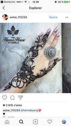Mehndi design love how the ink & jewelry compliment each other Hand Tattoos, New Tattoos, Best Mehndi Designs, Mehndi Designs For Hands, Mehandi Designs, Mehndi Tattoo, Henna Tattoo Designs, Tattoo Arm, Mandala Tattoo