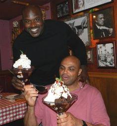 "Shaq treats Charles Barkley to an ""All Star"" birthday dinner"