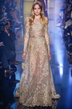 Elie Saab | Fall/Winter 2015 Couture Collection via Designer Elie Saab | Modeled by ? | Paris, July 8, 2015
