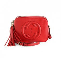 Soho Leather Disco Bag by Gucci