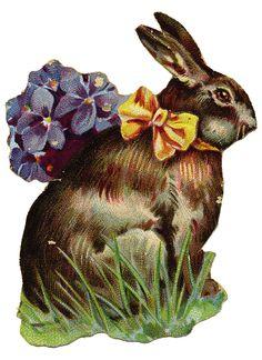 La Bande des Faineantes: Vintage Printable - Easter