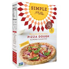 Simple Mills Almond Flour Pizza Dough Mix - Case of 6 - ozCountry of origin : USAGluten Free : YesKosher : YesGMO Free : YesSize : ozPack of : Selling Unit : case Almond Flour Pizza Crust, Cauliflower Crust Pizza, Vegan Cauliflower, Baking With Almond Flour, Baking Flour, Baking Soda, Foods With Gluten, Sans Gluten, Gluten Free Pizza