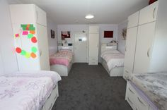 We Designed Manufactured And Installed This Bespoke Suite Of Bedroom Furniture At Oswestry School An Independent Boarding Day For Boys