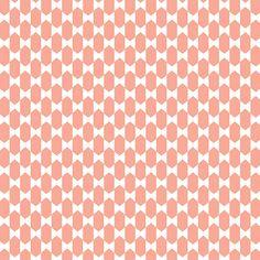 Scandinavische diabolo roze - exclusief behang voor de #kinderkamer uit collectie 'Eline Rousseau for dimago http://www.verfenwand.nl/assortiment/behang/dimago/3961