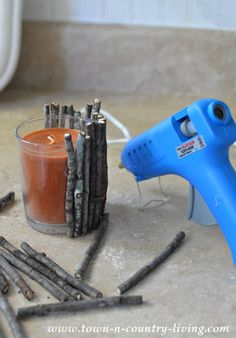 How to Make Rustic Twig Candles                                                                                                                                                                                 More