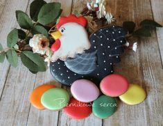 Easter hen cookie by Piernikowe Serca