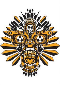 Nike/Kaizer Chiefs by Am I Collective, via Behance
