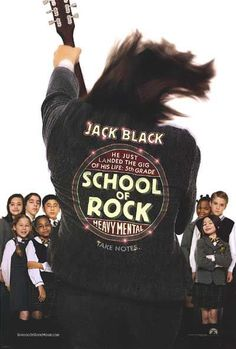 Family Movie Night: The School of Rock with Jack Black definitely, we still quote movie lines
