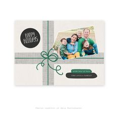 Gifted Wrap Holiday Card