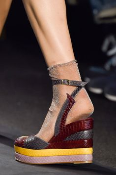 Anna Sui Spring 2015   The Top 7 Shoe Trends For Spring 2015   POPSUGAR Fashion