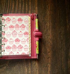 Pocket filofax transparent dashboard by CharlottesWeb86 on Etsy