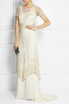 Sophia Kokosalaki Bolina embroidered cotton-tulle dress NET-A-PORTER.COM