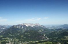 view from Kehlsteinhaus - Eagle's Nest, Germany