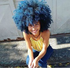 BLUE AFRO More