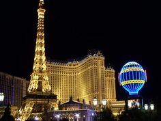 My FAVORITE place in VEGAS.... i realized how much i wanted to go to Paris right then and there........ stood outside there looking up so many times